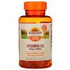 Sundown Naturals, Vitamin D3, 25 mcg (1,000 IU), 400 Softgels