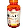 Sundown Naturals, Рыбий жир 1000 мг, 300 гелевых капсул (Discontinued Item)