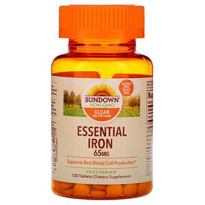 Сандаун Нэчуралс, Essential Iron, 65 mg, 120 Tablets отзывы покупателей