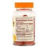 Sundown Naturals, Vitamin C Gummies with Rose Hips & Bioflavonoids, Orange Flavored, 90 Gummies