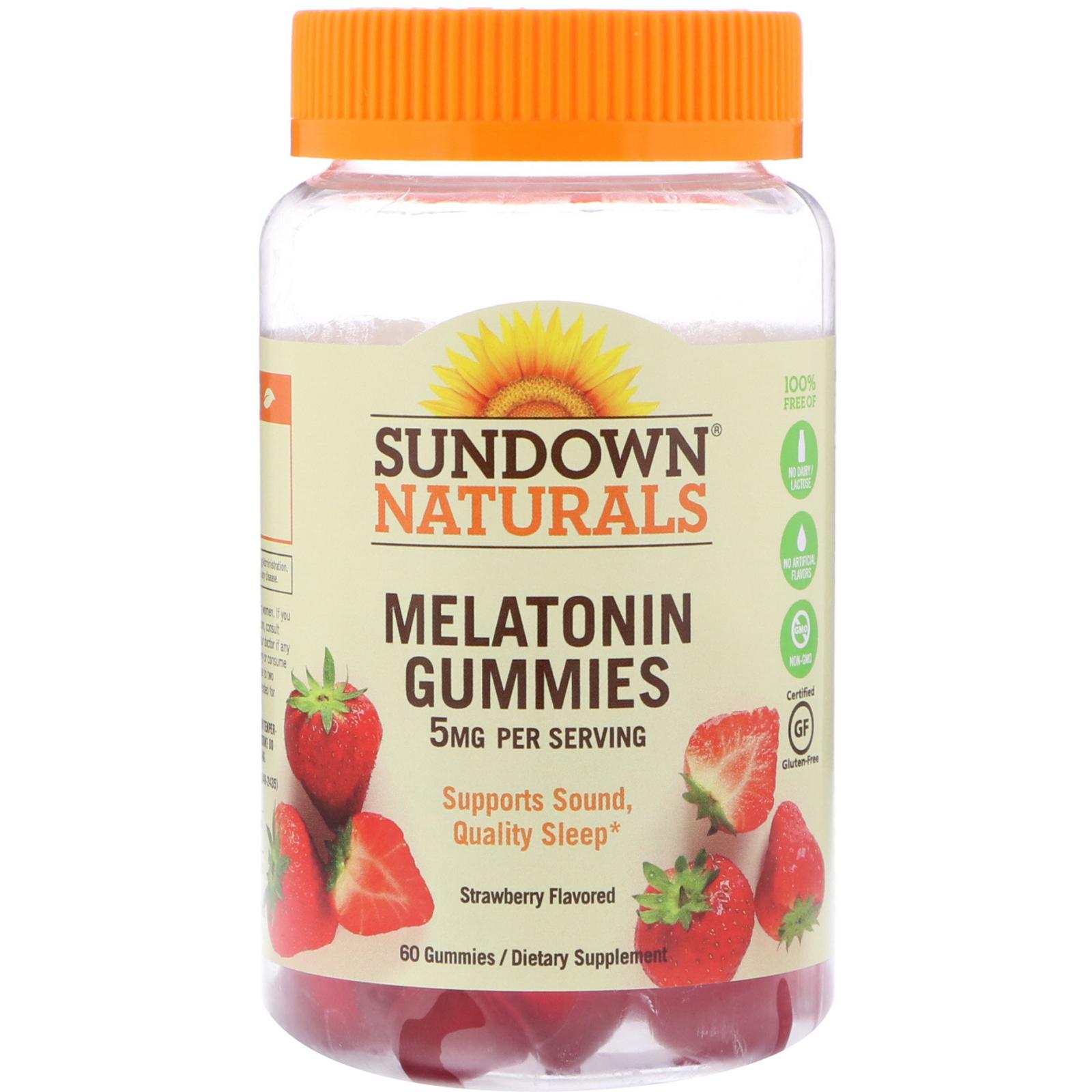 Sundown Naturals Melatonin Mg Reviews