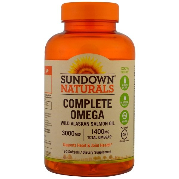 Sundown Naturals Omega    Review