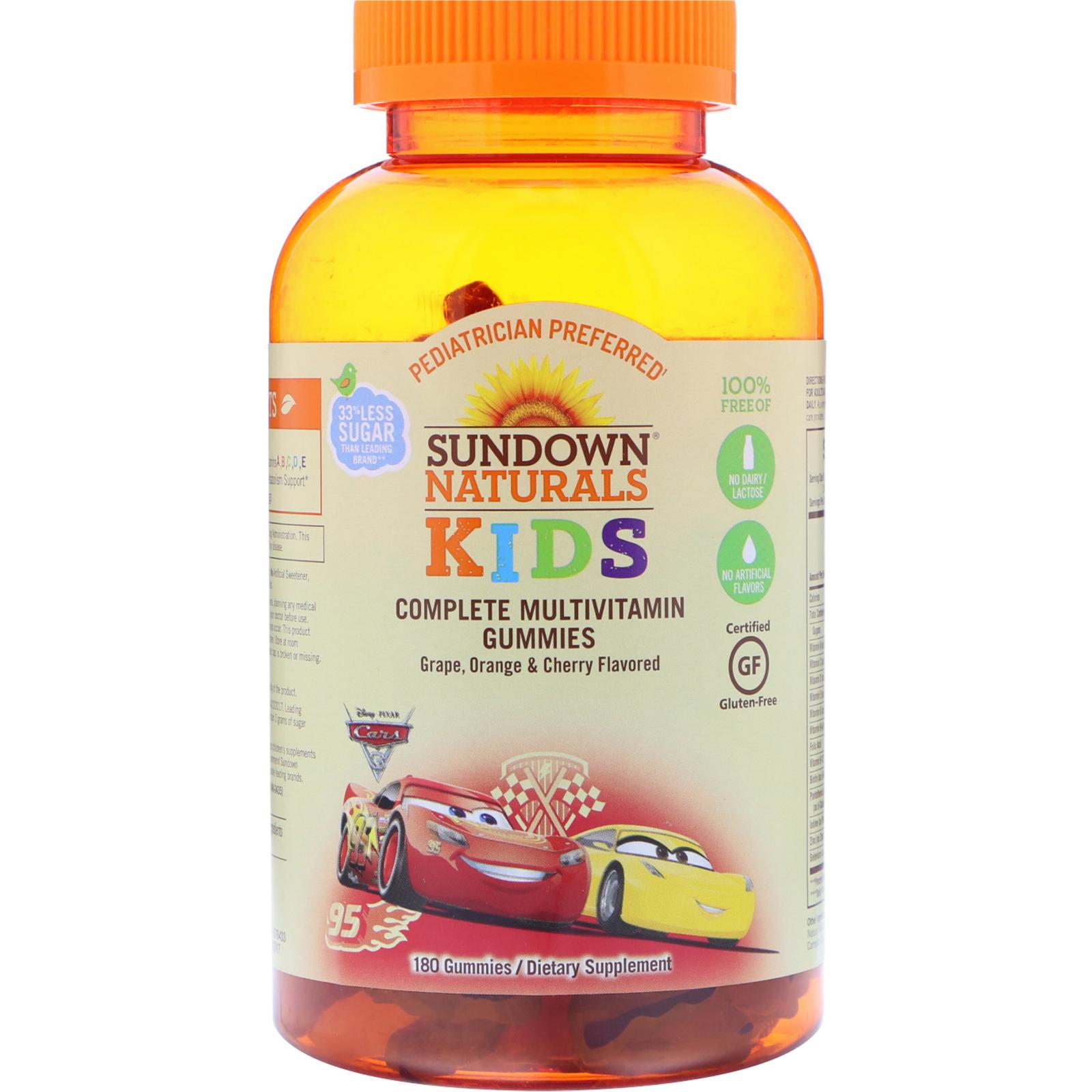 Sundown Naturals Kids Gummies Review