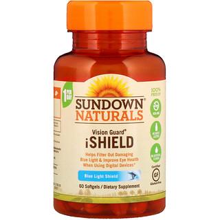 Sundown Naturals, Vision Guard iShield, 60 Softgels