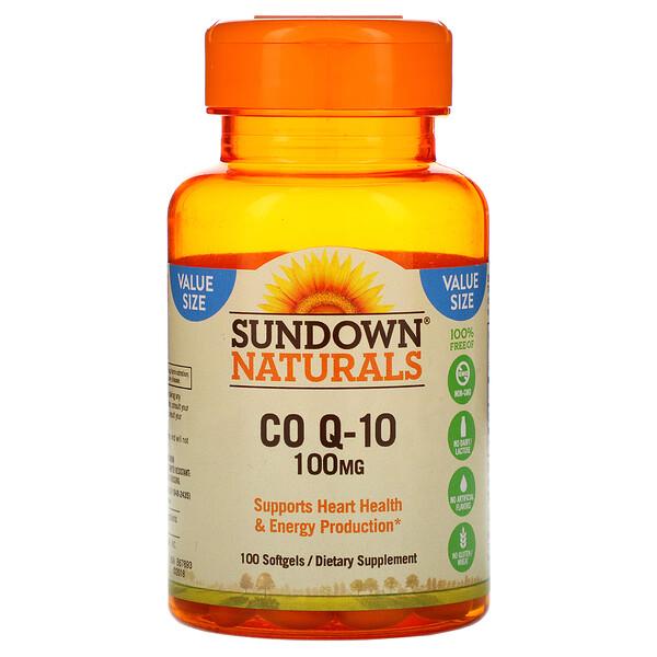 Co Q-10, 100 mg, 100 Softgels