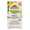 Sundown Organics, Well Women's Multivitamin, Once Daily, 30 Tablets