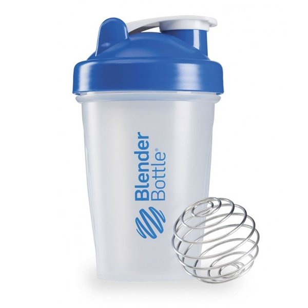 Blender Bottle,  Blender Bottle、ブレンダ―ボール付き、青、ボトル 12 オンス(360ml) (Discontinued Item)