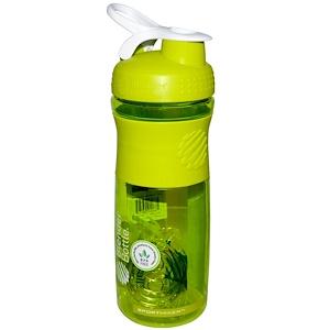 Сандеса, SportMixer Blender Bottle, Green/White, 28 oz Bottle отзывы покупателей