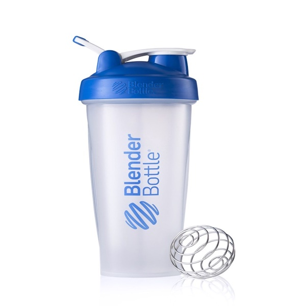 Blender Bottle, Classic Blender Bottle, with Loop, Blue, 28 oz Bottle (Discontinued Item)
