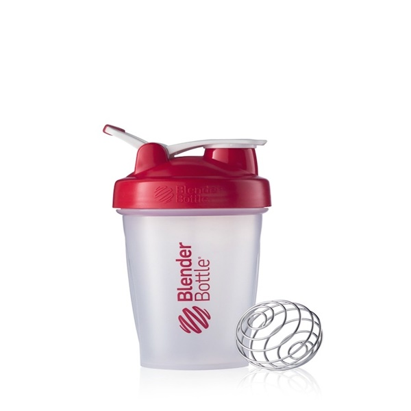Sundesa, Classic Blender Bottle with Loop, Red, 20 oz Bottle (Discontinued Item)