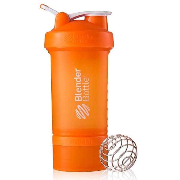 Blender Bottle, BlenderBottle, ProStak, Orange, 22 oz (Discontinued Item)