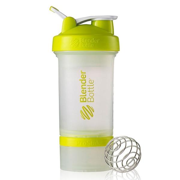 Blender Bottle, BlenderBottle Prostak, Green, 22 oz (Discontinued Item)