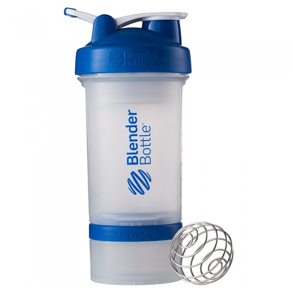Blender Bottle, BlenderBottle Prostak, Blue, 22 oz (Discontinued Item)