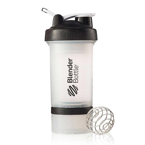 Blender Bottle, BlenderBottle, ProStak, Black, 22 oz (Discontinued Item)