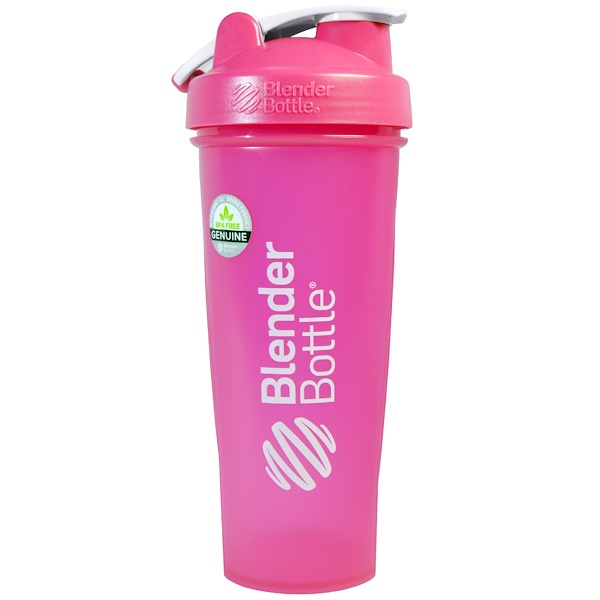 Blender Bottle, BlenderBottle, Classic With Loop, FC Pink, 32 oz (Discontinued Item)
