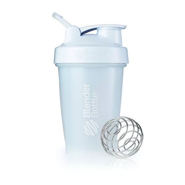 Blender Bottle, Blender Bottle, Classic, White, 20 oz (Discontinued Item)