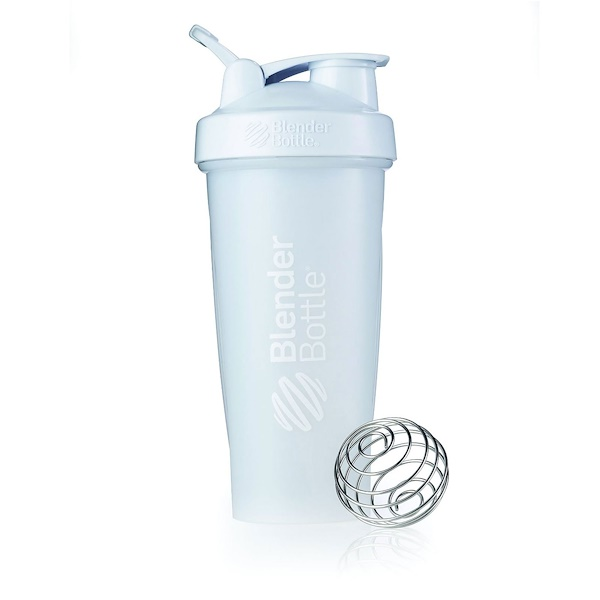 Sundesa, Blender Bottle, White, 28 oz (Discontinued Item)