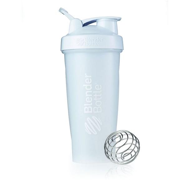 Blender Bottle, Blender Bottle, Classic, White, 32 oz (Discontinued Item)