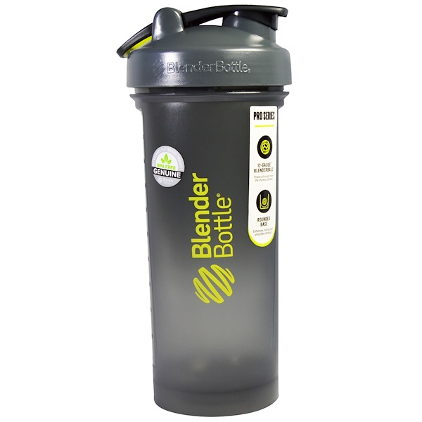 Blender Bottle, BlenderBottle, ProSeries, Pro45, Grey / Green, 45 oz (Discontinued Item)