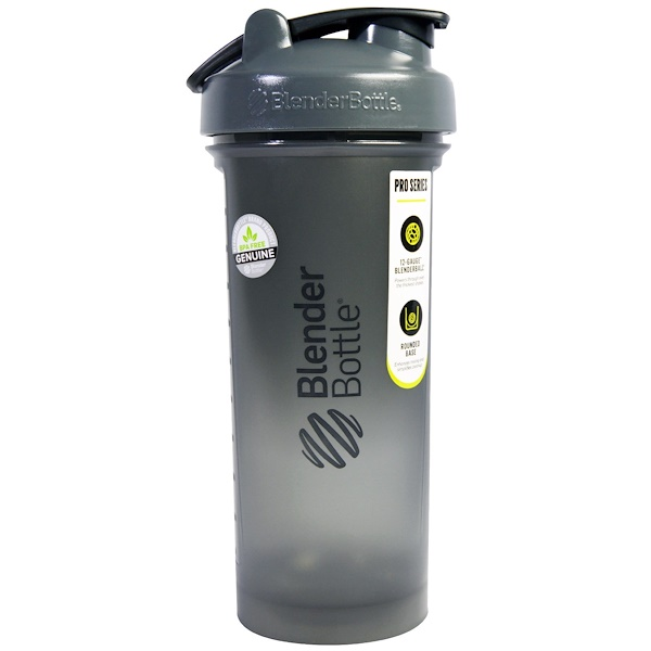 Blender Bottle, BlenderBottle, Pro45, Pro Series, FC Grey/Black, 45 oz (Discontinued Item)