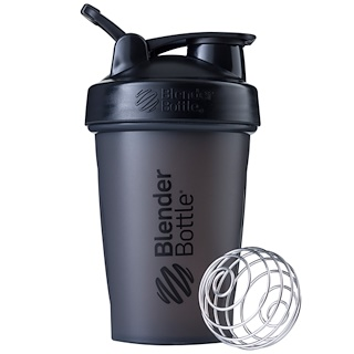 Blender Bottle, BlenderBottle, Classic mit Schlaufe, Schwarz, 567 ml
