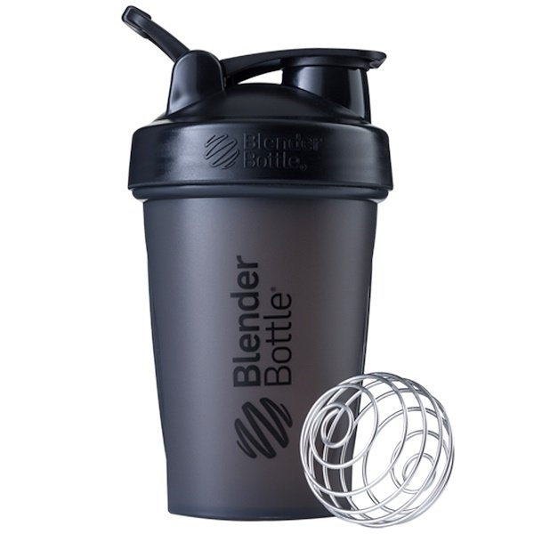 Blender Bottle, BlenderBottle, Classic With Loop, Black, 20 oz