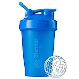 Отзывы о Blender Bottle, BlenderBottle, классическая с петелькой, зелено-голубая, 20 унций (600 мл)