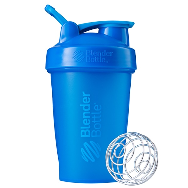 Blender Bottle, BlenderBottle, Classic With Loop, Cyan, 20 oz (Discontinued Item)
