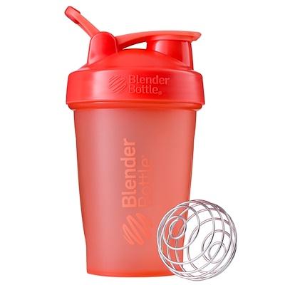 Blender Bottle 搖搖杯,帶環經典款,珊瑚色,20 盎司