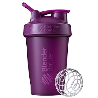 Blender Bottle, BlenderBottle, Classic com Alça, Roxa, 20 oz (591ml)