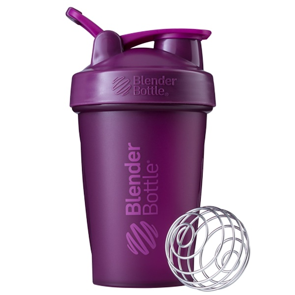 Blender Bottle, BlenderBottle, 고리가 있는 클래식 타입, 플럼, 20 oz (Discontinued Item)