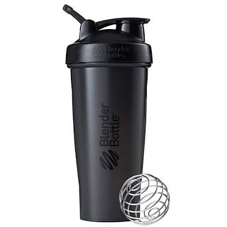 Sundesa, BlenderBottle, Classic With Loop, Black, 28 oz