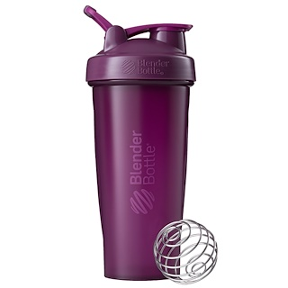 Sundesa, BlenderBottle, Classic With Loop, Plum, 28 oz