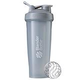 Отзывы о Blender Bottle, BlenderBottle, классическая с петлей, каменисто-серая, 32 унции
