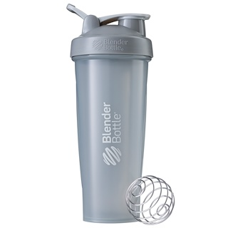 Sundesa, BlenderBottle, Classic With Loop, Pebble Grey, 32 oz