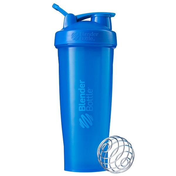 Blender Bottle, BlenderBottle، كلاسيك مع حلقة، أزرق مخضر، 32 أونصة (Discontinued Item)