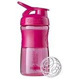 Отзывы о Blender Bottle, BlenderBottle, кружка-шейкер SportMixer с тритановым захватом, розовая, 20 унц.