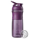 Отзывы о Blender Bottle, Бутылка-блендер BlenderBottle, SportMixer Tritan Grip, сливовая, 830 мл