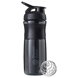 Sundesa, BlenderBottle, SportMixer с обеспечивающим надежный захват пластиком Tritan, черная/черная, 28 унций
