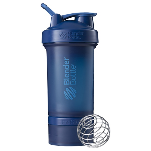 Blender Bottle, BlenderBottle, ProStak, Navy, 22 oz