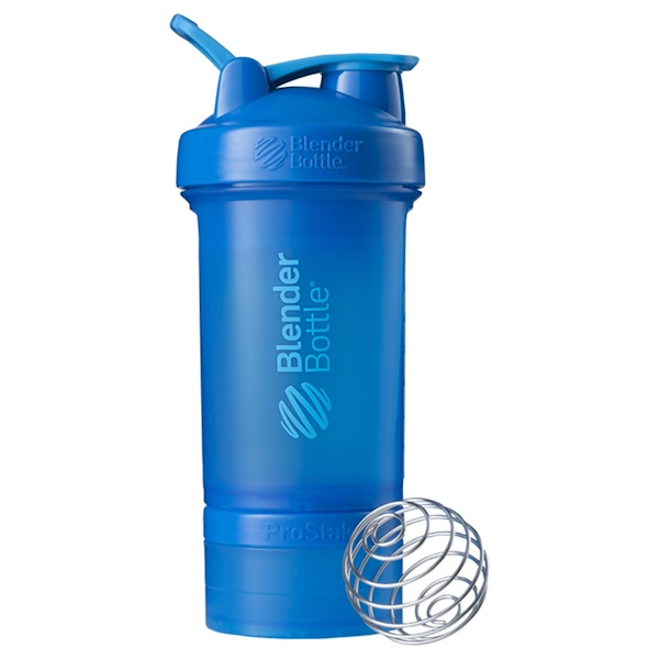 BlenderBottle, ProStak, Cyan, 22 oz
