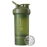Отзывы о Blender Bottle, BlenderBottle, ProStak, темно-зеленый цвет, 22 унции (660 мл)