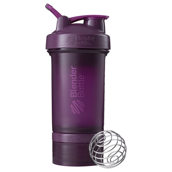 Blender Bottle, BlenderBottle, ProStak, Plum, 22 oz