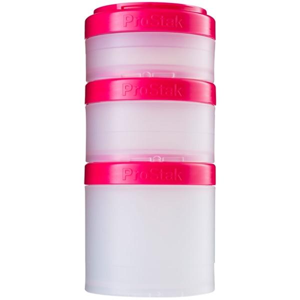 Sundesa, 便攜式可堆疊盒子,粉紅色,4個,每個40cc