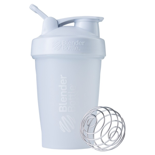 Blender Bottle, BlenderBottle, Classic With Loop, White, 20 oz (Discontinued Item)