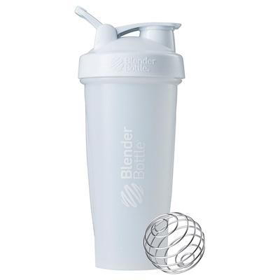 Blender Bottle 搖搖杯,帶環經典款,白色,28 盎司