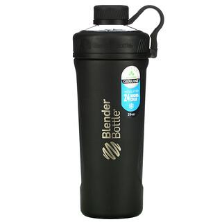 Blender Bottle, Radian, Insulated Stainless Steel, Matte Black, 26 oz