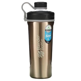 Blender Bottle, Radian, Insulated Stainless Steel, Copper, 26 oz