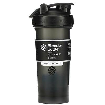 Blender Bottle Classic, шейкер, черный, 828мл (28унций)