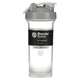Blender Bottle, 摇摇杯(带提手环经典款),石灰色,28 盎司(828 毫升)